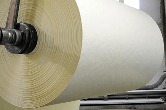 Papierindustrie Papierrolle