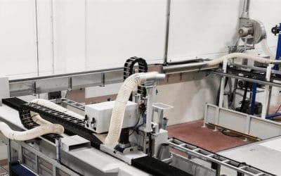 Fallstudie: Eine integrierte Absauganlage für Späne wie Aluminium-Späne