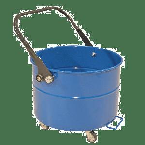Fahrbarer-Sammelbehälter-mit-Hebelentleerung