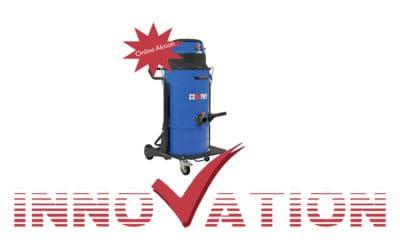 Der neue W2: Leistungsstarker, kompakter und handlicher Industriesauger im Online-Angebot