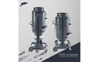 Der neue DM3 Longopac: Die optimale Absauglösung bei der Oberflächenbearbeitung