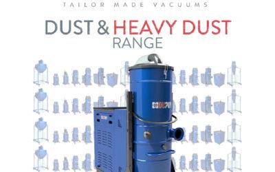 Hochleistungs-Industriesauger für Stäube und schwere Saugmedien